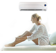 Air Conditioner & Woman