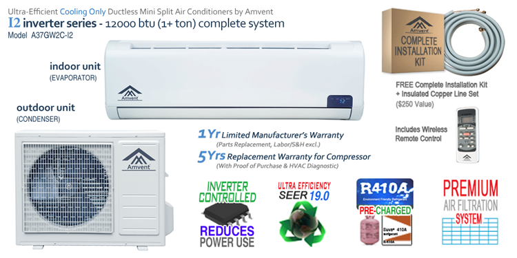 12000 BTU i2 Features Image
