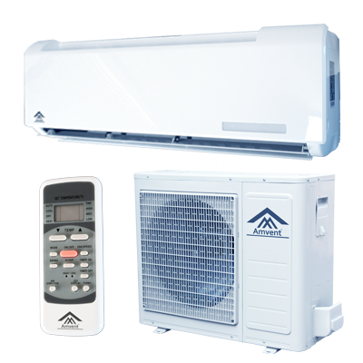 Ductless mini split packaged terminal air conditioners for 110v ac heater window unit