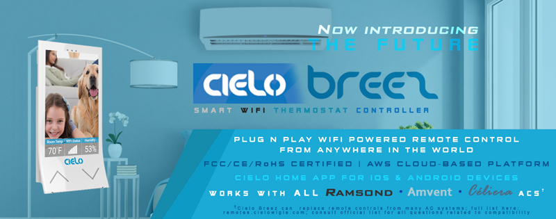 Introducing the Cielo Breez Smart Wifi Thermostat And Controller