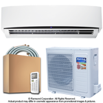 33000 BTU Inverter Ductless Mini Split Air Conditioner with Heat Pump | SEER 16.0 | 220V 60Hz
