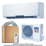 9000 BTU Inverter Ductless Mini Split Air Conditioner with Heat Pump | SEER 16.4 | 220V 60Hz