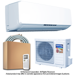 12000 BTU Inverter Ductless Mini Split Air Conditioner with Heat Pump | SEER 16.4 | 220V 60Hz