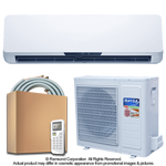 24000 BTU Inverter Ductless Mini Split Air Conditioner with Heat Pump | SEER 16.0 | 220V 60Hz